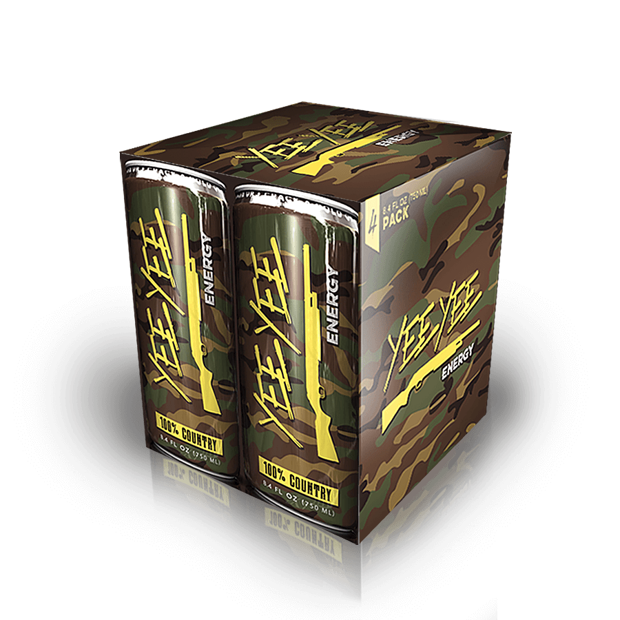 Yee Yee Energy Drinks - 4-Pack