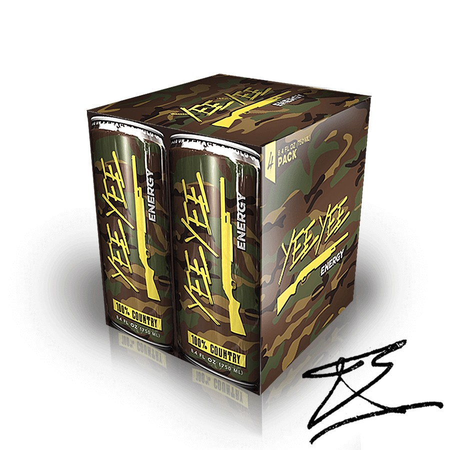 Yee Yee Energy Drinks - 4-Pack Signed
