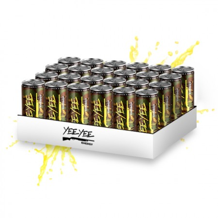 Yee Yee Energy Drinks - 24-Pack
