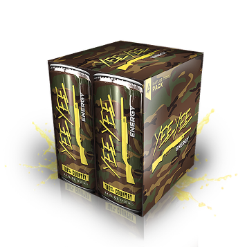 Yee Yee Energy Drinks 4-Pack